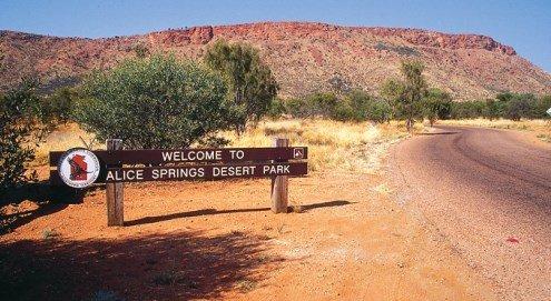 Пустынный парк Алис-Спрингс