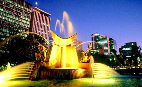 фонтан в Аделаиде