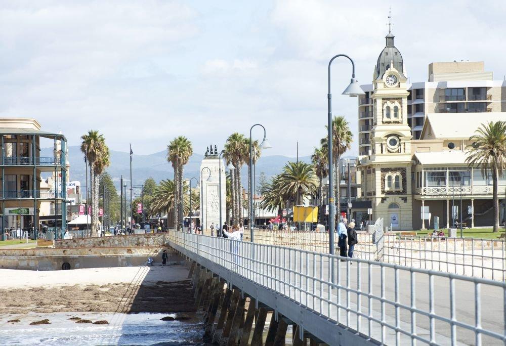 историческая архитектура в Аделаиде